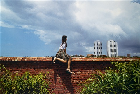 sitting on the wall haikou 1 by weng fen weng peijun