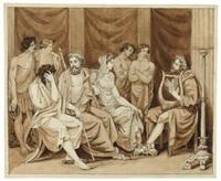the phaeacian banquet by johann erdmann hummel