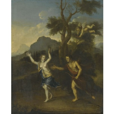 apollo and daphne by gerard hoet the elder