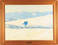 pejzaż zimowy by wiktor gutowski