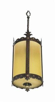 hanging lantern by oscar bruno bach