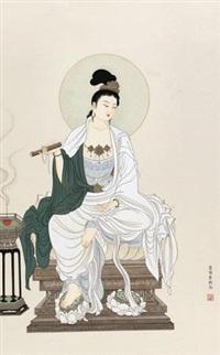 文殊菩萨像 by jia ruifeng