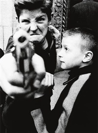 william klein new york 54/55 (portfolio of 12) by william klein