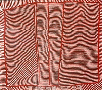 untitled (designs associated with ngarru) by tjakamarra charlie ward