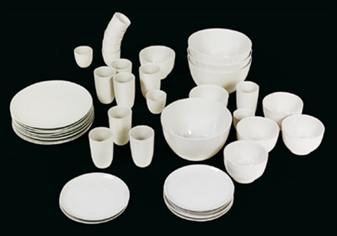 b set dinnerservice set of 43 parts by hella jongerius