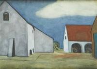 la ferme blanche by léon spilliaert