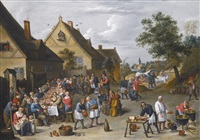 a country wedding feast by david teniers the younger