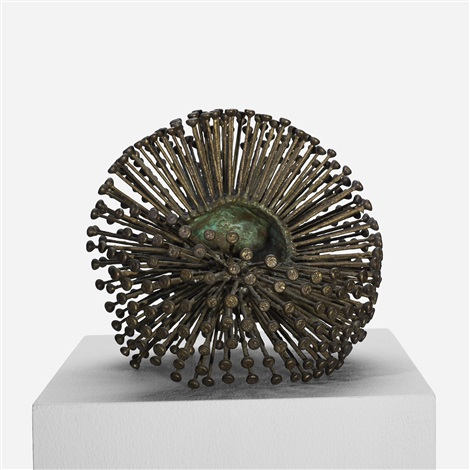 untitled welded form by harry bertoia