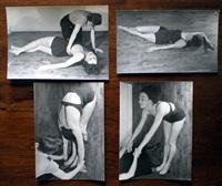 publicité pour un cours de gymnastique, paris (4 works) by ilse bing