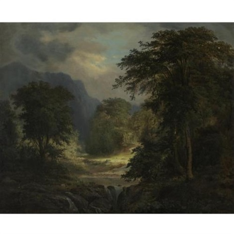 a clearing in the forest by robert scott duncanson