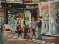 grafton street by claude davidson