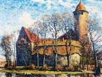 schloß schivelbein (swidwin) by carl hessmert