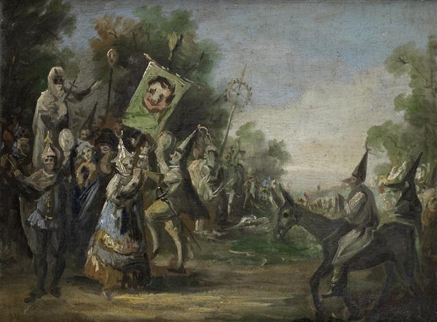 entierro de la sardina by eugenio lucas villamil