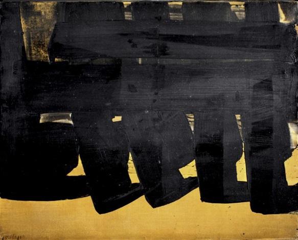 peinture 735 x 92 cm 16 novembre 1970 by pierre soulages