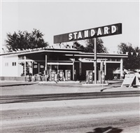gasoline stations (complete portfolio) by ed ruscha