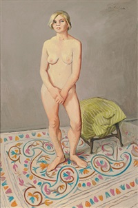 nude and nundah rug by ian armstrong