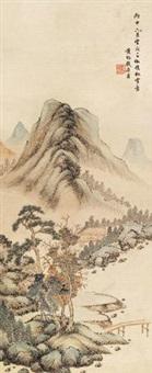 临溪小筑 by huang jun