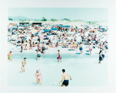 rosignano beach 1 by massimo vitali