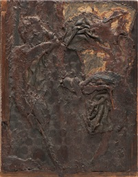 wood relief by robert cremean