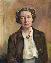 ohne titel (portrait beatrice bradley) by kurt schwitters
