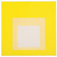 study for hommage to the square: looking deep by josef albers