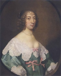 portrait of elizabeth pickering by edward bower