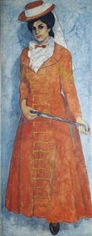 the strange lady arlette anhoury by louay kayyali