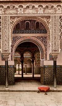 interior del alcázar, sevilla by tomas aceves