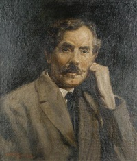 portrait of a gentleman by arthur spooner