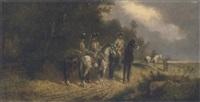 reiter am wald by robert von haug