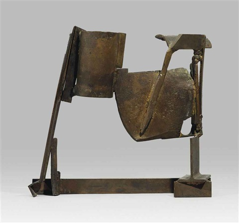 table bronze jamaica by sir anthony caro