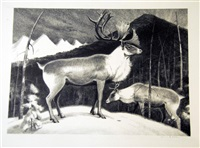 caribou (+ 9 others; 10 works) by james e. allen