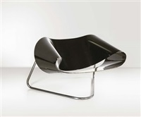 sedia cl9 ribbon by franca stagi and cesare leonardi