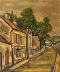 street of breuil by michel adlen