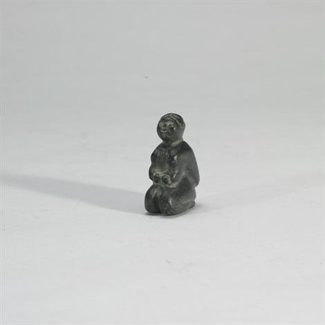 kneeling woman by yvonne kanayuq arnakyuinak