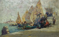 venetian sails by george charles haite