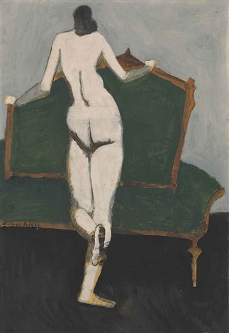nude by milton avery