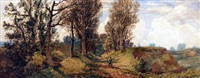 landscape near norwich by john joseph cotman