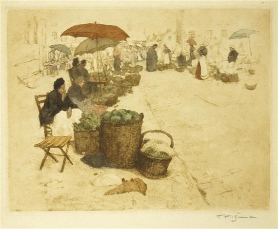 auf dem markt by t frantisek simon