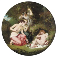 the disarming of cupid by william edward frost