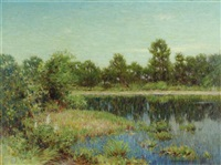 summer reflections by john willard raught