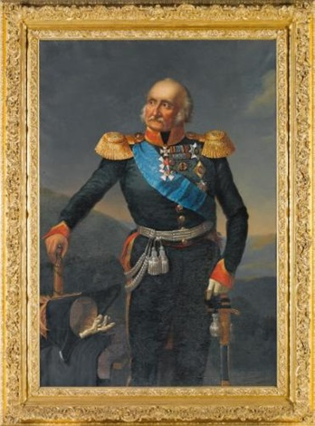 portrait of prince petr khristianovich wittgenstein 1769 1843 by franz krüger