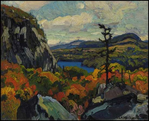 early autumn montreal river algoma by james edward hervey macdonald