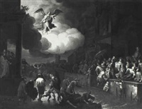 the healing of the paralytic at the pool of bethesda by adriaen verdoel