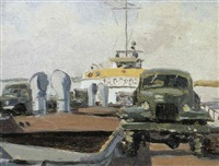 auto sur le mole by alexei koltsov