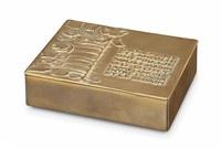 l'anémone et l'ancolie, a cigarette case by line vautrin