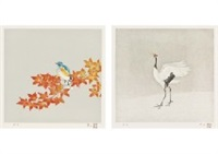 four seasons for birds (4 works) by atsushi uemura