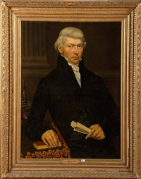 portrait de monsieur feyrick by charles louis acar