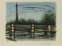 le pont grenelle à paris by bernard buffet