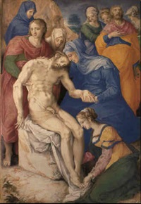 the lamentation by giulio clovio